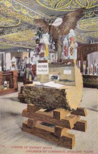 SPOKANE, Washington, 1900-1910's; Corner Of Exhibit Room, Chamber Of Commerce