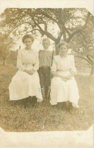 Postcard RPPC Family's Future