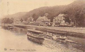 Belgium Namur Kursaal et Bateaux pour Touristes