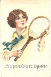 Artist Rappini, Tennis Artist Rappini writing on back light wear, writing on ...