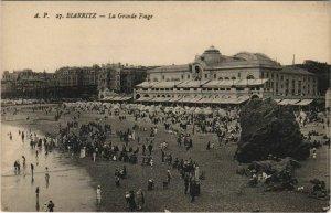 CPA Biarritz Grande Plage FRANCE (1126526)