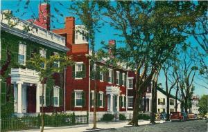 Nantucket Massachusetts~Starbuck Houses 1952