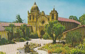 California Carmel Mission San Carlos Borromeo