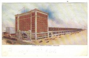 La Salle Street Station, Chicago, Illinois, PU-1910