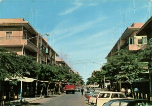 PC CPA SAUDI ARABIA, AL-KHOBAR, PRINCE KHALED STREET, Modern Postcard (b15896)
