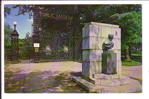 Entrance Public Gardens, Halifax, Nova Scotia, Canada