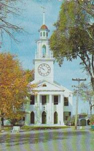 Maine Kennebunkport Typical Maine Church The Congregational Church At Kennebu...