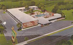 Aerial View,  Holiday Inn,  Lumberton,  North Carolina,   PU_40-60s