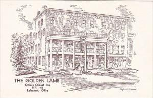 The Golden Lamb Ohio's Oldest Inn Est 1815 Lebanon Ohio