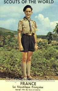 Scouts Of The World, France Scout Scouting Unused