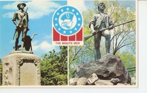 Postal 036814 : The Minuteman Condord and Lexington Massachusetts