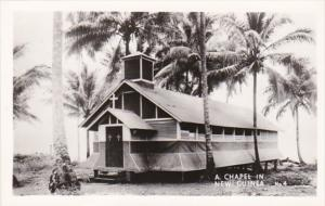 New Guinea A Chapel Real Photo