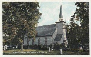BRANTFORD , Ontario , 1910-20s; Mohawk Church and graveyard