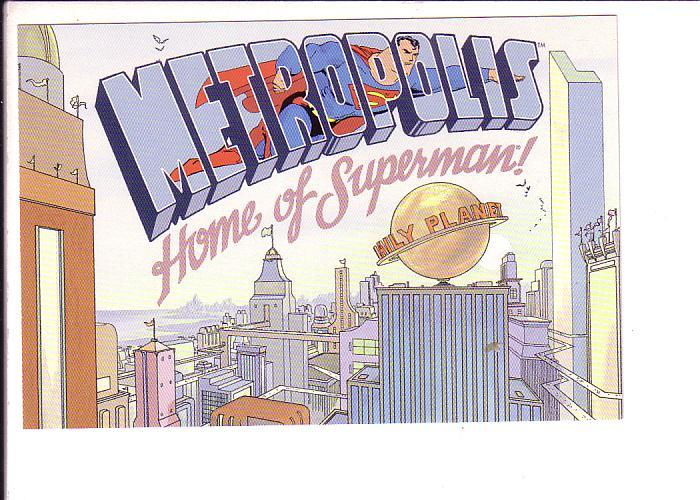 Metropolis, Home of Superman, Comic Book, DC 1998