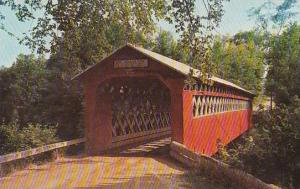Covered Bridge Tunbridge One Of Vermonts Famous Covered Bridges Vermont