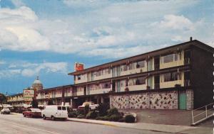 Exterior,Crest Motor Inn,Victoria,B.C.,Canada,40-60s