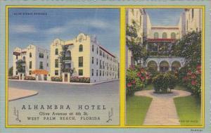Florida West Palm Beach Alhambra Hotel