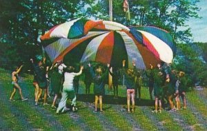 Wisconsin New Auburn Fun With The Parachute Camp Norwesco