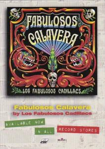Advertising Fabulosos Calavera Tower Records