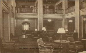 Rochester MN Kahler Hotel Interior c1920 Postcard #2