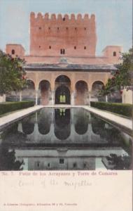 Spain Granada Patio de los Arrayanes y Torre de Comares