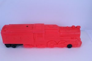 Marx Railroad Engine #333 Squeeze Toy with Steam Horn Sound 20 long Vintage