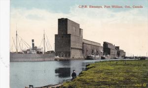 FORT WILLIAM, Ontario, Canada, 1900-1910s; C. P. R. Elevators