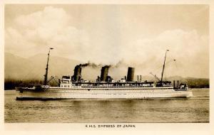 Canada - RMS Empress of Japan   *RPPC