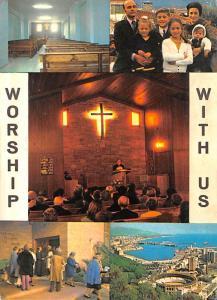 Spain Old Vintage Antique Post Card Evangelical Community Church Torremolinos...