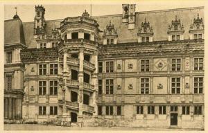 France - Blois, Chateau de Blois, Chateaus of the Loire River Valley