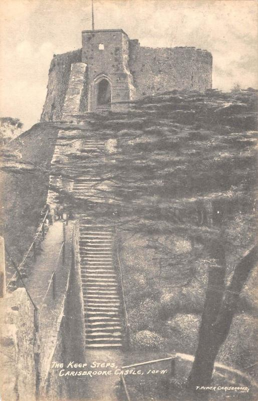 BR67322 the keer steps  carisbrooke castle isle of wight  uk  14x9cm