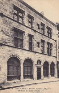 ORLEANS, Musee Jeanne-d' Arc Maison du XVI sicole, Loiret, France, 10-20s