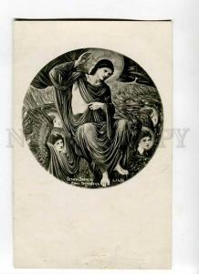 264327 Second Coming ANGELS by BURNE-JONES Vintage postcard