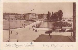 Switzerland  Les Bergues  Geneva 1929