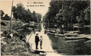 CPA Alfort - Les Bords de la Marne (275028)