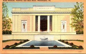 Pennsylvania Philadelphia Rodin Museum Parkway and 22nd Street