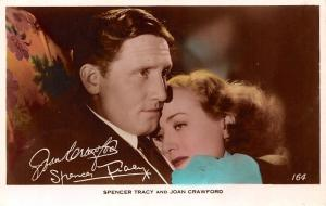 Spencer Tracy and Joan Crawford, Cinema Movie Star Actors