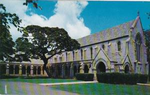 Hawaii Honolulu Parke Memorial Chapel St Andrew's Episcopal Cathedral