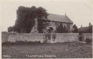 RP: Hempstead Church , NORFOLK , England , 1913