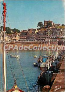 Modern Postcard Emerald Coast Cancale Port
