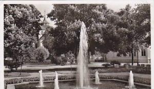 RP, Waterfountain, Radhusparken, Söderhamn, Sweden, 1920-1940s