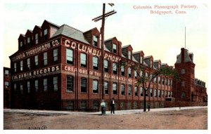 Connecticut Bridgeport Columbia Phonograph Factory
