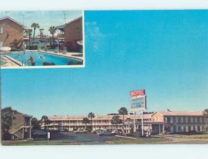 Unused Pre-1980 MOTEL SCENE Jacksonville Florida FL HJ8940