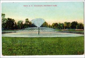 Fountain, Prospect Park, Troy NY