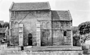 BRADFORD-ON-AVON WILTSHIRE ENGLAND~SAXON CHURCH SWEETMANS PHOTO POSTCARD