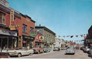 1960 Dodge Dart Phoenix-International Pickup-busy Water Street- PEI-Canada