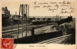 CPA REIMS - Le Pont Huet (277083)