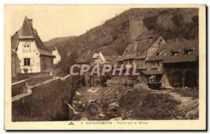 Kaysersberg - Weiss Party on Old Postcard