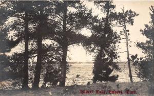 D54/ Lake Hubert Minnesota Mn Real Photo RPPC Postcard c1920 Shore View