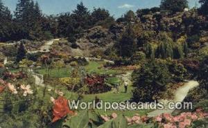 British Columbia, Canada Queen Elizabeth Park, Quarry Gardens Vancouver  Quee...